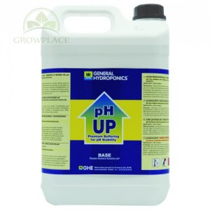 Nawóz GHE pH up - regulator - 5 L - plus