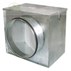 Air Filter Box - 250 mm plus Dust Filter - System Przeciwkurzowy