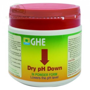 Nawóz GHE pH Down - powder - 0.5 kg