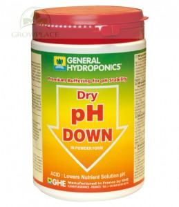 Nawóz GHE pH Down - powder - 1 kg