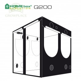 HomeBox Evolution Q 200 Namiot Growbox 200 cm x 200 cm x 200 cm