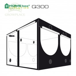 HomeBox Evolution Q 300 Namiot Growbox 300 cm x 300 cm x 200 cm