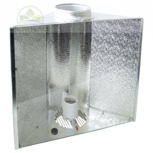 Air Cool Reflektor 45 x 45 x 18 - kołnierz 125 mm