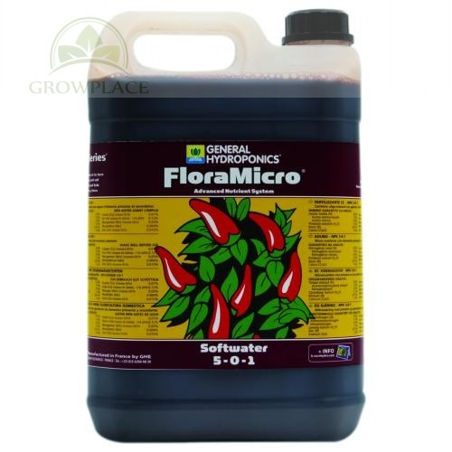 Mikroelementy GHE FloraMicro 5 L